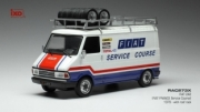 Fiat 242 Fiat France Service Course  1/43
