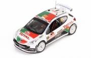 Peugeot 207 S2000 #9 7ème Monte Carlo  1/43