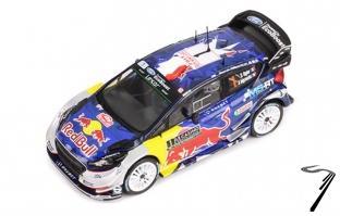 Ford Fiesta WRC 1er rallye Monte Carlo  1/43