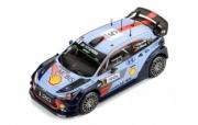 Hyundai i20 coupé WRC rallye Espagne, avec décals #4 et #5  1/43