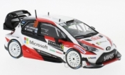 Toyota Yaris WRC 2nd rally Monte Carlo  1/43