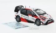 Toyota Yaris 1er rallye de Suède (+ sticker #11)  1/43