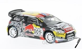 Citroen DS3 WRC #001 rallye circuit Paul Ricard  1/43