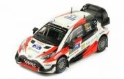 Toyota Yaris WRC 1er rallye Finlande  1/43