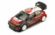 Citroen C3 WRC 4ème Monte Carlo  1/43