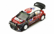 Citroen C3 WRC 5ème Rallye Mexique  1/43