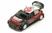 Citroen C3 WRC 2eme Rallye Finlande  1/43