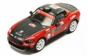 Fiat Abarth 124 RGT #23 rallye Monte Carlo  1/43
