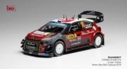 Citroen C3 WRC 1er rallye Catalogne  1/43