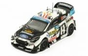 Ford Fiesta WRC #43 rallye Catalogne  1/43
