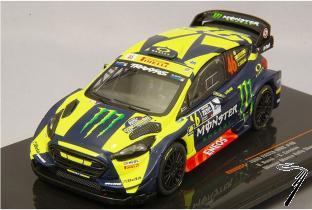 Ford Fiesta RS WRC 1er rallye Monza  1/43