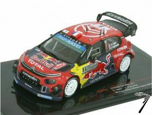 Citroen C3 WRC 1er rallye Monte Carlo  1/43