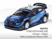 Ford Fiesta WRC 3eme Rallye du Mexique  1/43