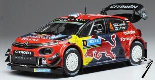 Citroen C3 WRC  2eme Rallye de Finlande  1/43