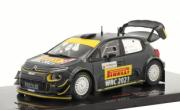 Citroen C3 WRC Rallye de Sardaigne  1/43