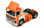 Scania . 141 blanc/orange 1/43