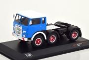 Fiat . T1 bleu / blanc 1/43