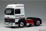 Renault . Turboleader blanc 1/43