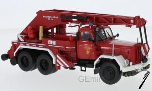 Magirus . Deutz Uranus KW 16, rouge/blanche, pompiers München 1/43