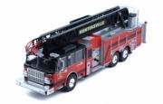 Divers . Smeal 105 aerial pompier USA Huntersville 1/43