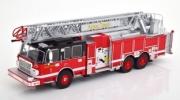 Divers . Smeal 105 Aerial Ladder Pompier 1/43