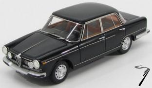 Alfa Romeo . Berlina noir 1/43