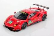 Ferrari 488 GTE Risi n°82 19ème LM16  1/43