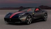 Ferrari F60 America matt black matt black 1/18