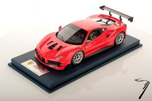 Ferrari 488 Challenge rouge Scuderia Challenge rouge Scuderia 1/18