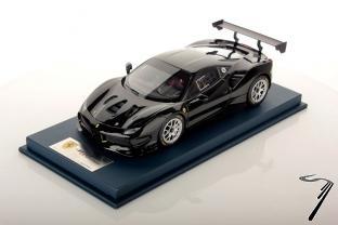 Ferrari 488 Challenge noir DS 1250  Challenge noir DS 1250  1/18