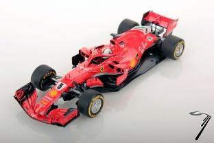 Ferrari SF71H 1er GP Canada - 50ème Victoire  1/18