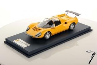 Ferrari Dino 206 Competizione prototipo jaune 206 Competizione prototipo jaune 1/18