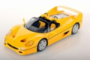 Ferrari F50 Spider jaune Modena Spider jaune Modena 1/18