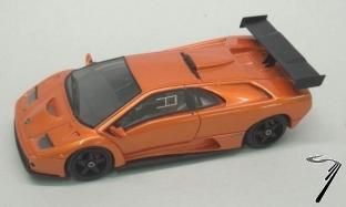 Lamborghini Diablo GTR orange GTR orange 1/43