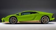 Lamborghini Aventador LP 700-4 Miura Homage vert scandal/doré intérieur noir LP 700-4 Miura Homage vert scandal/doré intérieur noir 1/43