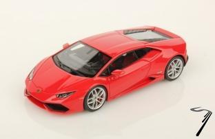 Lamborghini Huracan LP610-4 rouge Mars métallisé LP610-4 rouge Mars métallisé 1/43