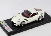 Ferrari F12 TDF blanc Fuji blanc Fuji 1/43