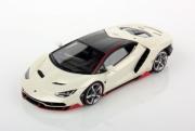 Lamborghini Centenario blanc canopus blanc Canopus 1/43