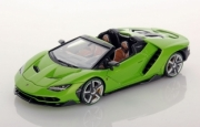 Lamborghini Centenario cabriolet vert Mantis  Cabriolet vert Mantis 1/43