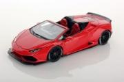 Lamborghini Huracan convertible Spyder Aftermarket  red mars Convertible Spyder Aftermarket red mars 1/43