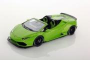 Lamborghini Huracan convertible Spyder Aftermarket  green mantis  Convertible Spyder Aftermarket green mantis 1/43