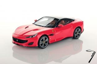 Ferrari Portofino rouge Scuderia/toit noir DS rouge Scuderia/toit noir DS 1/43