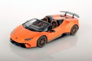 Lamborghini Huracan Performante cabriolet orange Mat Performante cabriolet orange mat 1/43