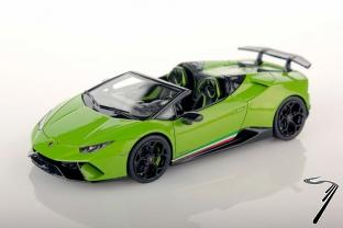Lamborghini Huracan Performante cabriolet vert perlé Performante cabriolet vert perlé 1/43