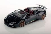 Lamborghini Huracan Performante cabriolet noir métallisé Performante cabriolet noir métallisé 1/43