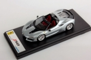 Ferrari J50 cabriolet argent brillant cabriolet argent brillant 1/43