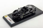 Ferrari J50 cabriolet noir brillant cabriolet noir brillant 1/43