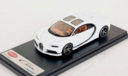 Bugatti Chiron Skyview blanc glacier Pebble Beach Skyview blanc glacier Pebble Beach 1/43
