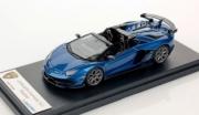 Lamborghini Aventador SVJ Roadster Bleu Caelum SVJ Roasdter Bleu Caelum 1/43