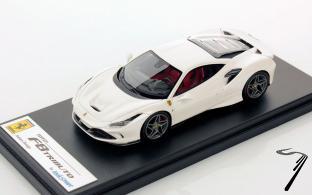 Ferrari F8 Tributo blanc Fuji Tributo blanc Fuji 1/43